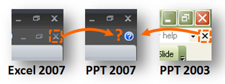 Why was the Close Window button removed? It doesnt make sense if it wasnt done universally in the Office suite.