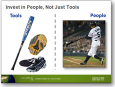 I used this baseball analogy in Japan. Go Ichiro!