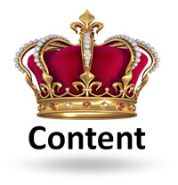Content is king (c)Shutterstock