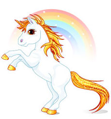 I hate unicorns. Dont be deceived by their cuteness because theyre ugly monsters that steal your time. (c) Shutterstock