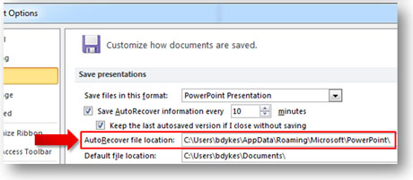 how recover an unsaved powerpoint 2010 file | powerpoint ninja, Powerpoint templates